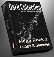 Rock Loops Dark Collection Part 2 Ableton Logic FLStudio Cubase Reason Presonus