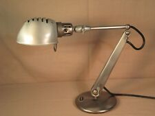 Dazor Swivel Metal Desk Lamp Model 1103B-ST Mid Century Modern Made in U.S.A.