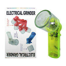 ELECTRICAL HERB SPICE TOBACCO SMOKE GRINDER CRUSHER BATTERY OPERATED ASSORTED