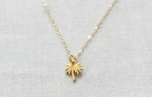 Tropical PALM TREE Necklace Alloy Necklace Chain Alloy Beach Holiday Summer UK