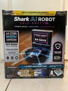 NEW MODEL Shark AI Robot Vacuum RV2502AE XL HEPA Self-Empty Base LIDAR Wi-Fi