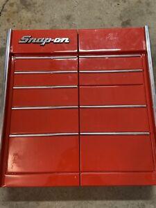 SNAP-ON Tools Collectors Garage Wall Hanging Dart Board Cabinet Rare Version *