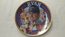 Sports Impressions Nolan Ryan Farewell 8 1/4 Gold Edition Plate Coa Le