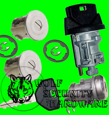 Grand Cherokee 97-98 Ignition Switch Lock Cylinder & Door & Rear Lock Set 2 Key