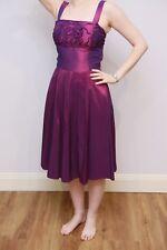 Studibaker Sydney purple formal dress, knee-length, size 8