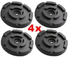 SET OF 4 PADS FOR OMCN 2 Post Car Lift Ramp Rubber Pads - 145 mm - REAL RUBBER