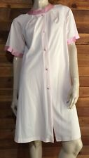 Vintage Shadowline Pink Size Small Nylon Robe #7722