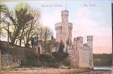 Irish Postcard BLACKROCK CASTLE Cork Ireland Emerald Series to Brixton UK 1906