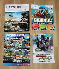 2016 Gamescom Heft Magazine Ausgabe WOW Legion Ghost Recon Wildlands etc
