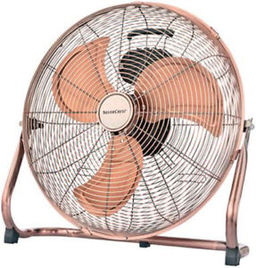 Windmaschine kupfer 45cm 100W 7367,4m³/h Bodenventilator Boden Ventilator SC