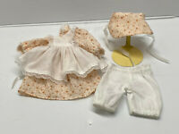"Antique/Vintage Style 3 pc Vintage Child Style Doll Dress Fashion for 14"" doll"