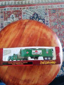 ERTL 1948 PETERBILT MODEL 344 RAILWAY EXPRESS AGENCY TRACTOR TRAILER 1:87  HO