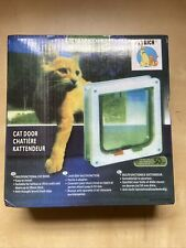 Petrich Cat Door Small Brand New With Screws -A