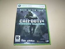 Call of Duty 4: Modern Warfare  GOTY Xbox 360 **New & Sealed** (Scratched)