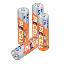4pcs 1.6V 2500mWh Ni-Zn AA Rechargeable Batteries For RC Car Toys - PKCELL BTY
