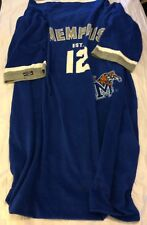 Collegiate Snuggie Memphis Tigers Soft Blanket With Sleeves Adult VGUC