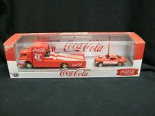 M2 Machines Auto Haulers Coca-Cola 1970 Ford C-950 & 1966 Ford Mustang Gasser.