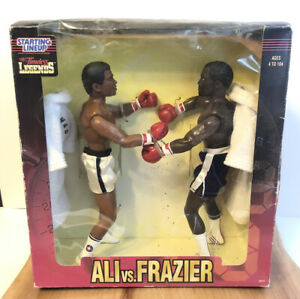 MUHAMMAD ALI SMOKIN JOE FRAZIER Staring Lineup Boxing Legends FIGURE NEW SEALED