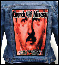 CHURCH OF MISERY - Master of Brutality --- Giant Backpatch Back Patch