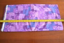 By 1/2 Yd Purple Patchwork Quilting Cotton, Fabric Traditions/2001 N379