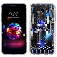 Slim TPU Phone Case for LG K30 / LG Premier Pro LTE - Cosmos Circuit