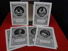 bibliophile Kunstpostkarten Serie aus dem Liebesleben römischer Damen Postkarten