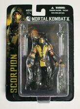 """Mortal Kombat X Scorpion Figure 4"""" Mezco Toys"""
