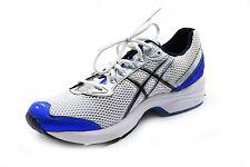 Asics Men's Running Shoes White/Silver/Blue TN531 Size 12.5 2E - NIB