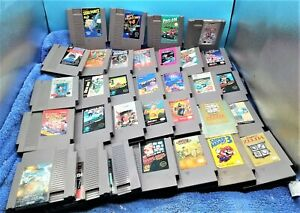 Nintendo NES Video Game LOT of 32. Kick start your collection!!