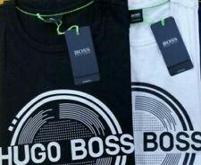 HUGO BOSS Men's Authentic T-shirt Free Shipping RED WHITE BLACK GRAY NAVY