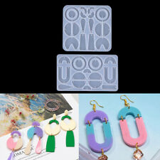 Silicone Earring Pendant Jewelry Mold Resin Casting Mould Tool DIY Epoxy MakWFI