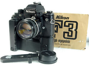 Nikon F3P (F3 Body w/ DE-5 prism and MF-6b back), MD-4, NIKKOR 50mm/1.4 AIS Lens