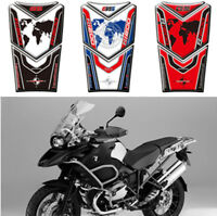 3D Gas Fuel Protector Tank Traction Pads Sticker For BMW R1200GS Adventure 14-17