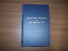 United States Pattern, Trial and Experimental Pieces By Adams & Woodin, 1959