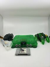 Jungle Green Nintendo 64 N64 Video Game Console TIGHT STICK Controller + 1 Game