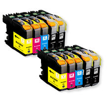 10 PK Quality Ink Set w/ Chip for Brother LC201 LC203 MFC J680DW J880DW J885DW