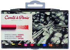 Conte a paris artistes soft pastels lot de 10 assorties haute qualité couleurs