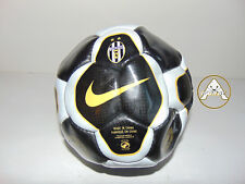 Vintage NIKE Pallone Calcio Soccer Ball Old Stock 90 China Juventus Nero