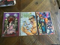 Lot Of 3 Adult Comic Books Donna Mia Blood Reign Raw City Rare