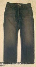 Route 66 Men's size 34 blue Jeans Straight Fit Denim Pants EEUC 34x29