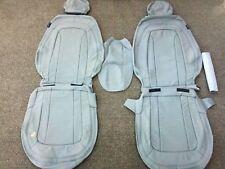 Leather Seat Covers For 2011 KIA OPTIMA LX SX SEDAN GREY 121