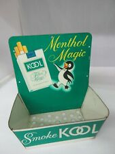 VINTAGE ADVERTISING KOOL STORE MATCH HOLDER COUNTER 154-