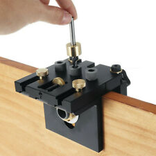 Pocket Hole Jig Kit Tool 3 In 1 Woodworking Doweling Jig Kit Positioning Clip