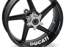 4x Ducati Panigale 1299 1199 1098 748 Rueda Llanta Adhesivo Calcomanía Vinilo De Motocicleta