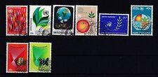 Gestempelte Briefmarken der Vereinten Nationen als Posten & Lots