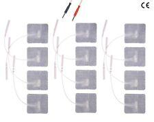 ao 12 ELECTRODOS parches adhesivos ELECTROESTIMULADOR GLOBUS TESMED COMPEX ...