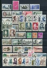 FRANCE 1957 MNH COMPLETE YEAR 52 Stamps Mi Cat EURO 158