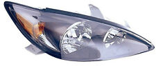 2002-2004 Toyota Camry SE Model  Right/Passenger Side Headlight Assembly Black