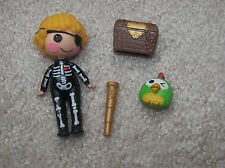 LALALOOPSY MINI DOLL PATCH'S TREASURE HUNT  Patch Skeleton