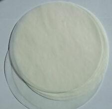 Pack of 20 Non stick round GreaseProof paper cake tin liners all sizes